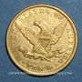 Coins Etats Unis. 10 dollars 1856. (PTL 900/1000. 16,71 g)