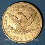 Coins Etats Unis. 10 dollars 1880. (PTL 900‰. 16,71 g)
