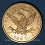 Coins Etats Unis. 10 dollars 1880 S. San Francisco. (PTL 900‰. 16,71 g)
