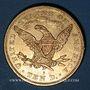 Coins Etats Unis. 10 dollars 1880S. San Francisco. (PTL 900/1000. 16,71 g)