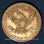 Coins Etats Unis. 10 dollars 1881. (PTL 900‰. 16,71 g)