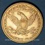 Coins Etats Unis. 10 dollars 1882. (PTL 900‰. 16,71 g)