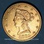 Coins Etats Unis. 10 dollars 1883. (PTL 900‰. 16,71 g)
