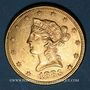 Coins Etats Unis. 10 dollars 1883. (PTL 900/1000. 16,71 g)