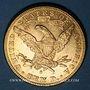 Coins Etats Unis. 10 dollars 1888 S. San Francisco. (PTL 900‰. 16,71 g)