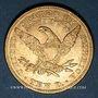 Coins Etats Unis. 10 dollars 1893. (PTL 900‰. 16,71 g)