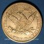 Coins Etats Unis. 10 dollars 1894. (PTL 900‰. 16,71 g)