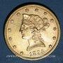 Coins Etats Unis. 10 dollars 1895. (PTL 900/1000. 16,71 g)
