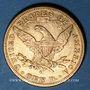 Coins Etats Unis. 10 dollars 1896 S. San Francisco. (PTL 900‰. 16,71 g)