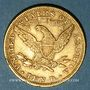 Coins Etats Unis. 10 dollars 1897. (PTL 900‰. 16,71 g)