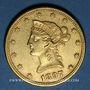 Coins Etats Unis. 10 dollars 1897. (PTL 900/1000. 16,71 g)