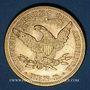 Coins Etats Unis. 10 dollars 1898. (PTL 900‰. 16,71 g)