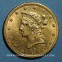 Coins Etats Unis. 10 dollars 1905. (PTL 900‰. 16,71 g)
