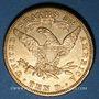 Coins Etats Unis. 10 dollars 1907 S. San Francisco. (PTL 900‰. 16,71 g)