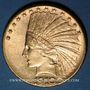 Coins Etats Unis. 10 dollars 1910 D. Denver. Tête d'indien. (PTL 900‰. 16,71 g)