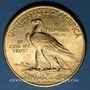 Coins Etats Unis. 10 dollars 1910. Tête d'indien. (PTL 900‰. 16,71 g)
