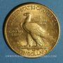 Coins Etats Unis. 10 dollars 1915. Tête d'indien. (PTL 900‰. 16,71 g)