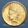 Coins Etats Unis. 10 dollars 1916S. San Francisco. Tête d'indien. 900 /1000. 16,71 gr