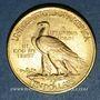 Coins Etats Unis. 10 dollars 1926. Tête d'indien. 900 /1000. 16,71 gr