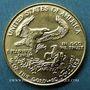Coins Etats Unis. 10 dollars 1992. (PTL 917‰. 8,48 g)