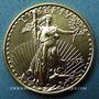 Coins Etats Unis. 10 dollars 1992. (PTL 917/1000. 8,48 g)