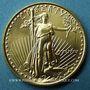Coins Etats Unis. 10 dollars MCMLXXXIX (1989). (PTL 917‰. 8,48 g)