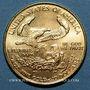 Coins Etats Unis. 10 dollars MCMLXXXVI (1986). (PTL 917/1000. 8,48 g)