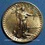 Coins Etats Unis. 10 dollars MCMLXXXVII (1987). (PTL 917‰. 8,48 g)