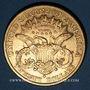 Coins Etats Unis. 20 dollars 1877 S. San Francisco. (PTL 900‰. 33,43 g)