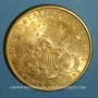 Coins Etats Unis. 20 dollars 1898 S. San Francisco. (PTL 900‰. 33,43 g)