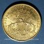 Coins Etats Unis. 20 dollars 1904. 900 /1000. 33,43 gr
