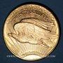 Coins Etats Unis. 20 dollars 1911D. Denver. Statue de la Liberté. (PTL 900‰. 33,43 g)