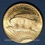 Coins Etats Unis. 20 dollars 1914 D. Denver. Statue de la Liberté. (PTL 900‰. 33,43 g)