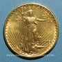 Coins Etats Unis. 20 dollars 1914S. San Francisco. Saint Gaudens. (PTL 900/1000. 33,43 g)