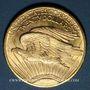 Coins Etats Unis. 20 dollars 1923. Statue de la Liberté. 900 /1000. 33,43 gr