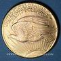 Coins Etats Unis. 20 dollars 1928. Statue de la Liberté. (PTL 900‰. 33,43 g)