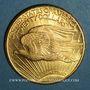 Coins Etats Unis. 20 dollars 1928. Statue de la Liberté. (PTL 900 ‰. 33,43 g)