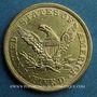 Coins Etats Unis. 5 dollars 1853. (PTL 900/1000. 8,36 g)