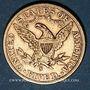 Coins Etats Unis. 5 dollars 1906 S. San Francisco. (PTL 900‰. 8,36 g)