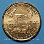 Coins Etats Unis. 5 dollars 1999. (PTL 917‰. 3,39 g)