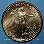 Coins Etats Unis. 5 dollars 1999. (PTL 917/1000. 3,39 g)