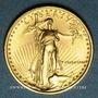 Coins Etats Unis. 5 dollars MCMLXXXVII (1987). (PTL 917/1000. 3,39 g)
