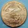 Coins Etats Unis. 50 dollars 1999. (PTL 917‰. 33,93 g)