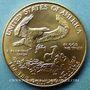 Coins Etats Unis. 50 dollars MCMLXXXIX (1989). (PTL 917‰. 33,93 g)