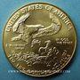 Coins Etats Unis. 50 dollars MCMLXXXIX (1989). (PTL 917/1000. 33,93 g)