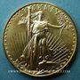 Coins Etats Unis. 50 dollars MCMXC (1990). (PTL 917/1000. 33,93 g)
