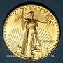 Coins Etats Unis. 50 dollars MCMXCI (1991). American eagle gold bullion. (PTL 917‰. 33,93 g)