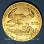 Coins Etats Unis. 50 dollars MCMXCI (1991). American eagle gold bullion. (PTL 917/1000. 33,93 g)