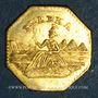 Coins Etats Unis. Californie.  California Gold-Charm 1886