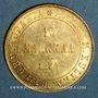 Coins Finlande. Alexandre II (1855-1881). 10 markkaa 1879 S. (PTL 900‰. 3,23 g)